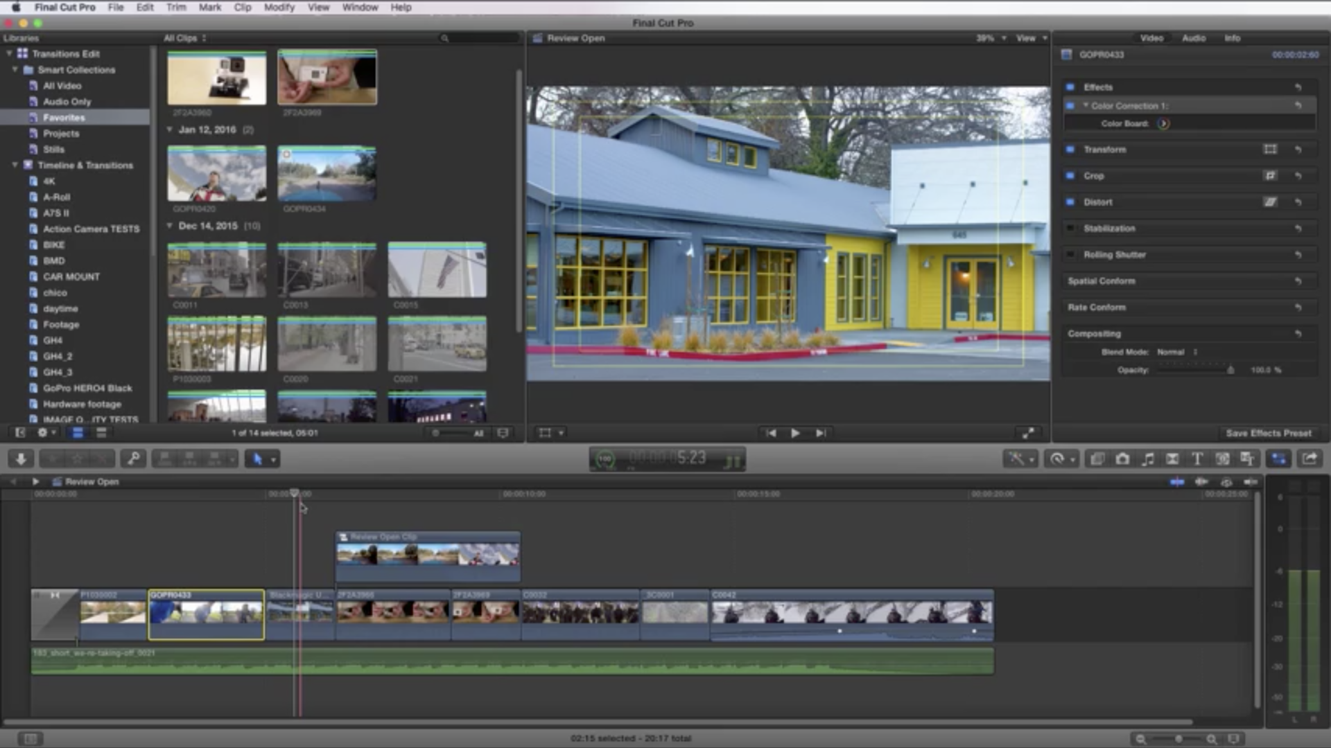 Final Cut Pro X Essentials - Working in the Timeline
