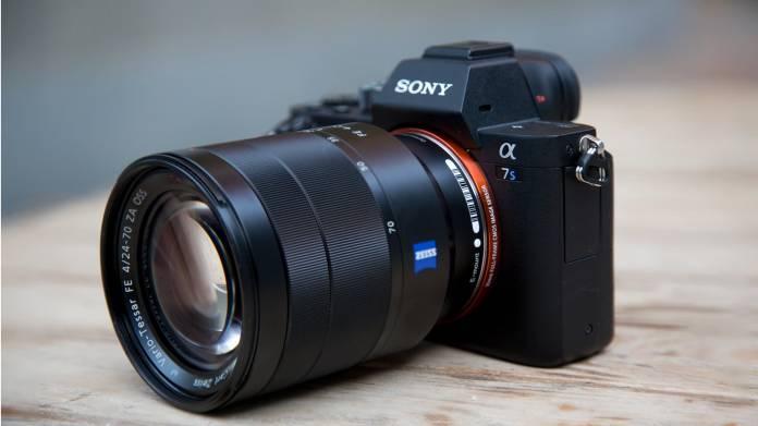 Sony a7S II - Front