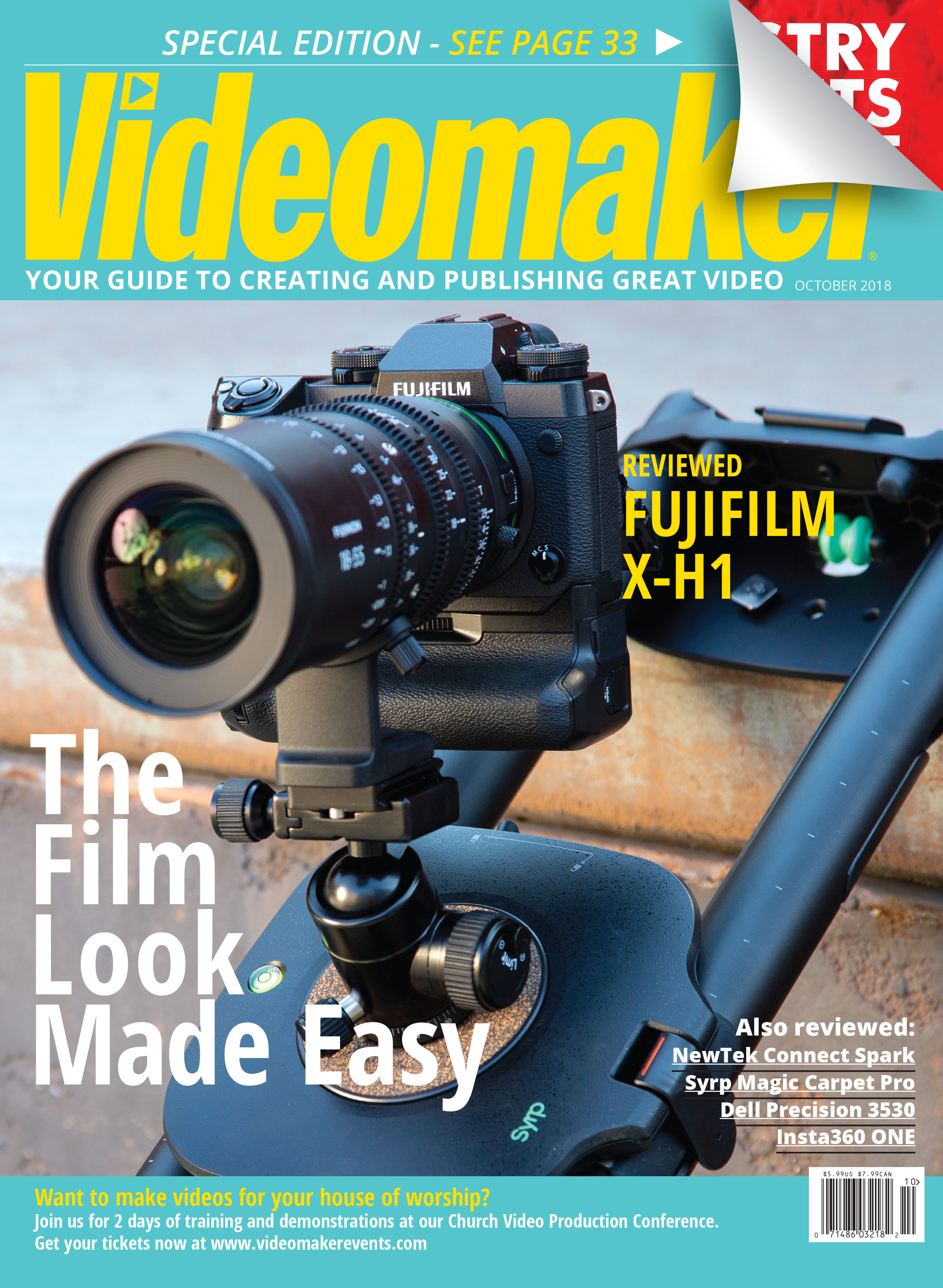 Videomaker October 2018