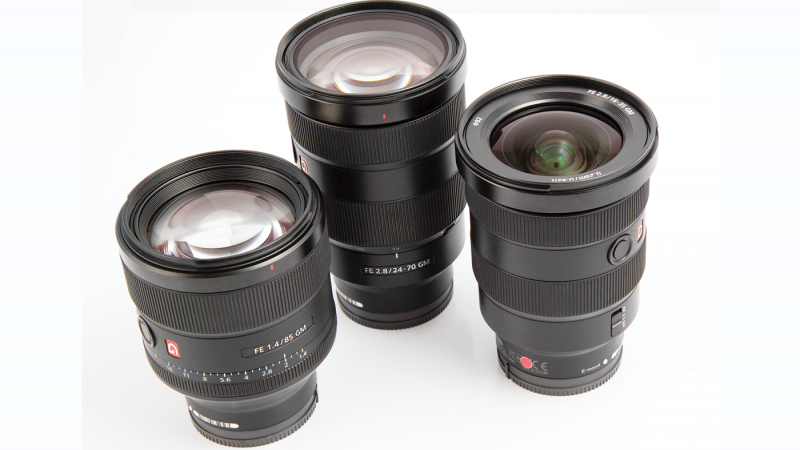Review conducted with a number of E-mount lenses
