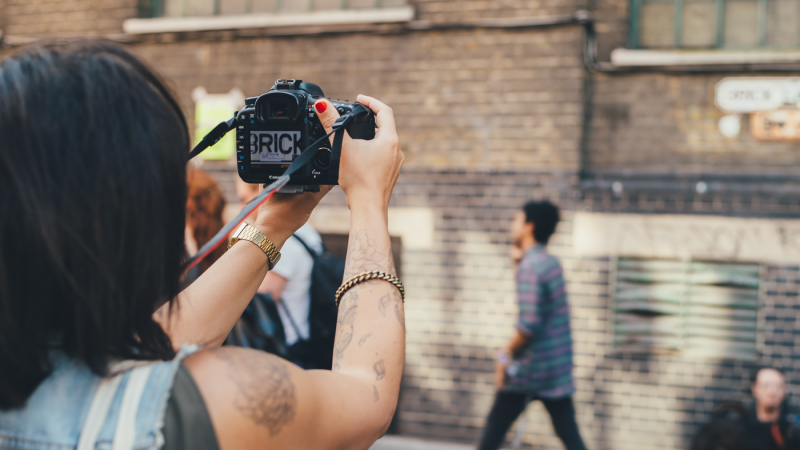 When shooting handheld, image stabilization can help you capture smooth tracking shots, but if you move to a tripod, it's best to turn image stabilization off to avoid unwanted juddering in the image during pans and tilts.