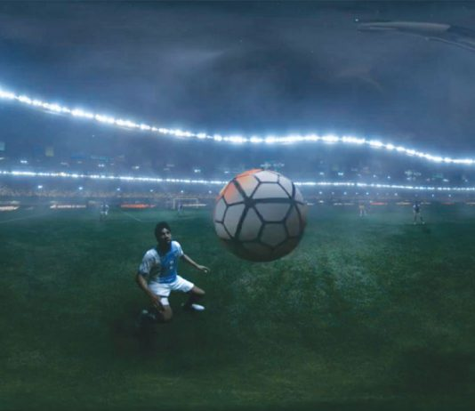 360-degree video created for Nike by Digital Domain and IM360 and directed byAdam Berg.