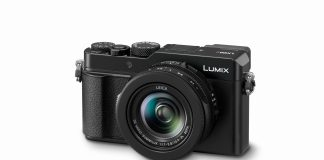 Panasonic LUMIX LX100 II from the front