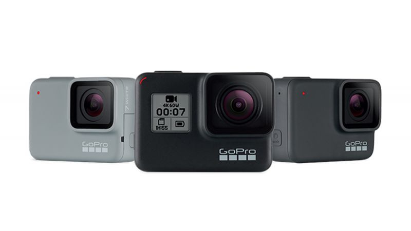 GoPro HERO7 White, Black and Silver