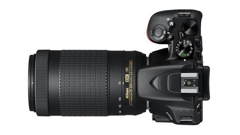 Top of the Nikon D3500