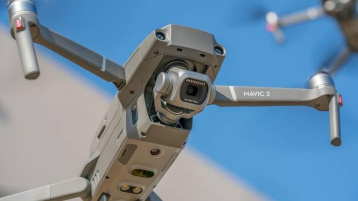 Mavic 2 Pro in the air