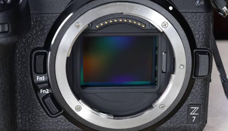 Close up of the Z7 sensor