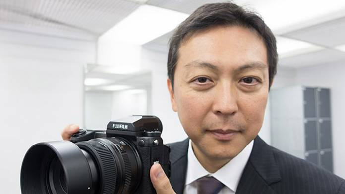 Toshihisa Iida, Senior Manager of Sales & Marketing in Fujifilm's Optical Device & Electronic Imaging products division