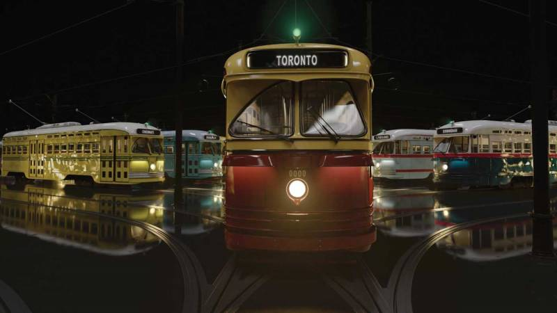 """In the 40–minute IMAX doc, """"The Trolley,"""" directed by Stephen Low, short form documentary storytelling is leveraged to provoke a discussion about the advantages of public transit in the face of climate change."""