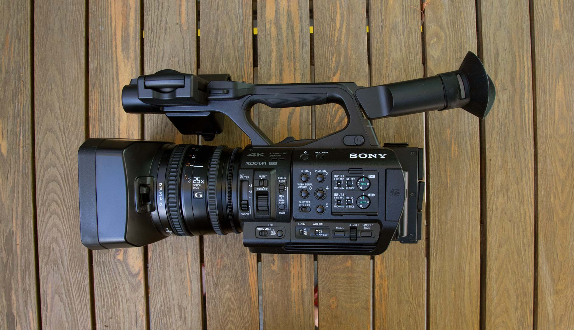 Sony Pxw Z190 Review All The Control You Need Videomaker