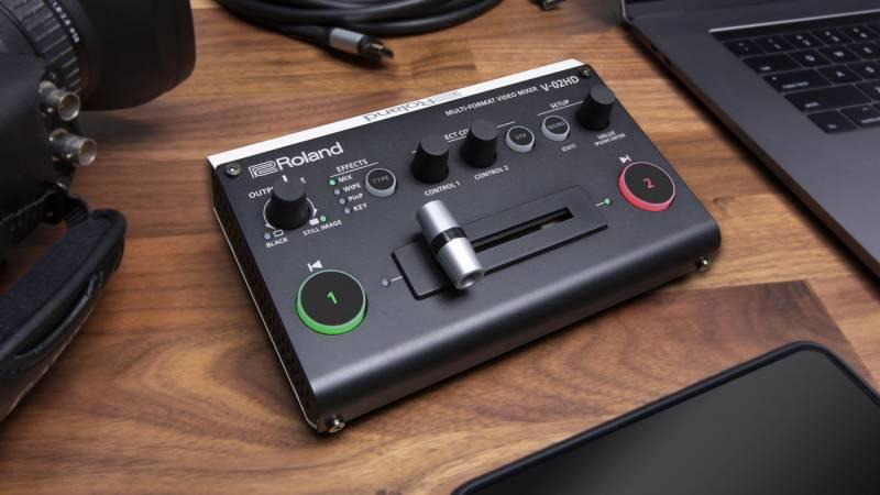 Roland reveals the V-02HD video mixer