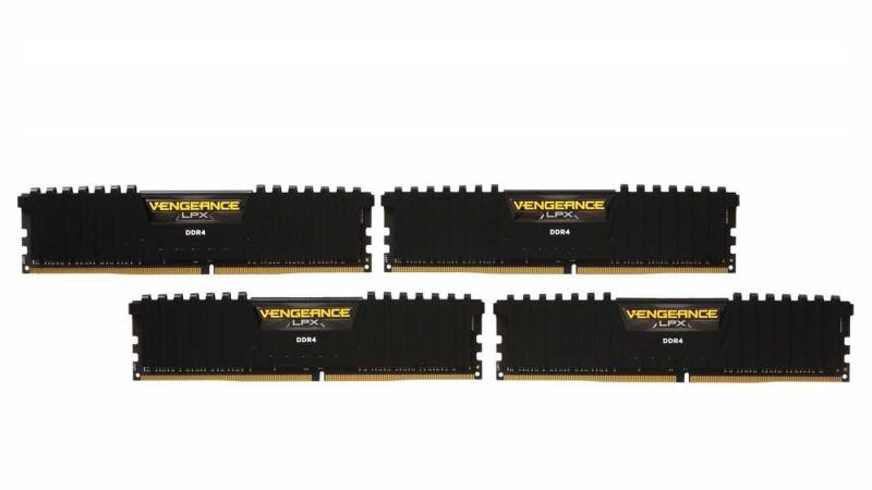 Corsair Vengeance LPX 16GB (4x4GB) 288-Pin DDR4 2666