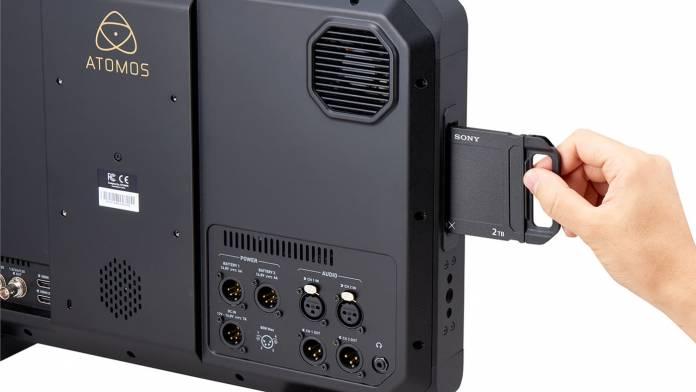 Sony has revealed three Atom X SSDmini drives