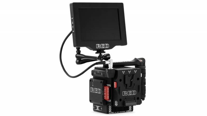 DSMC2 mounted to RED camera