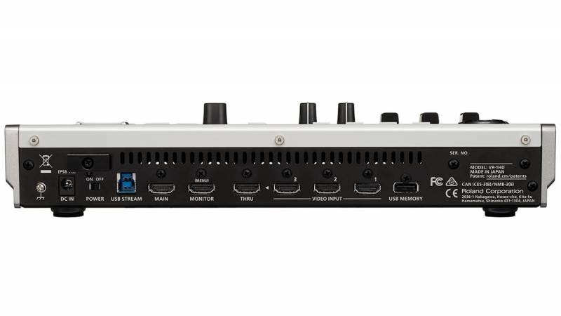 Roland VR-1HD back view
