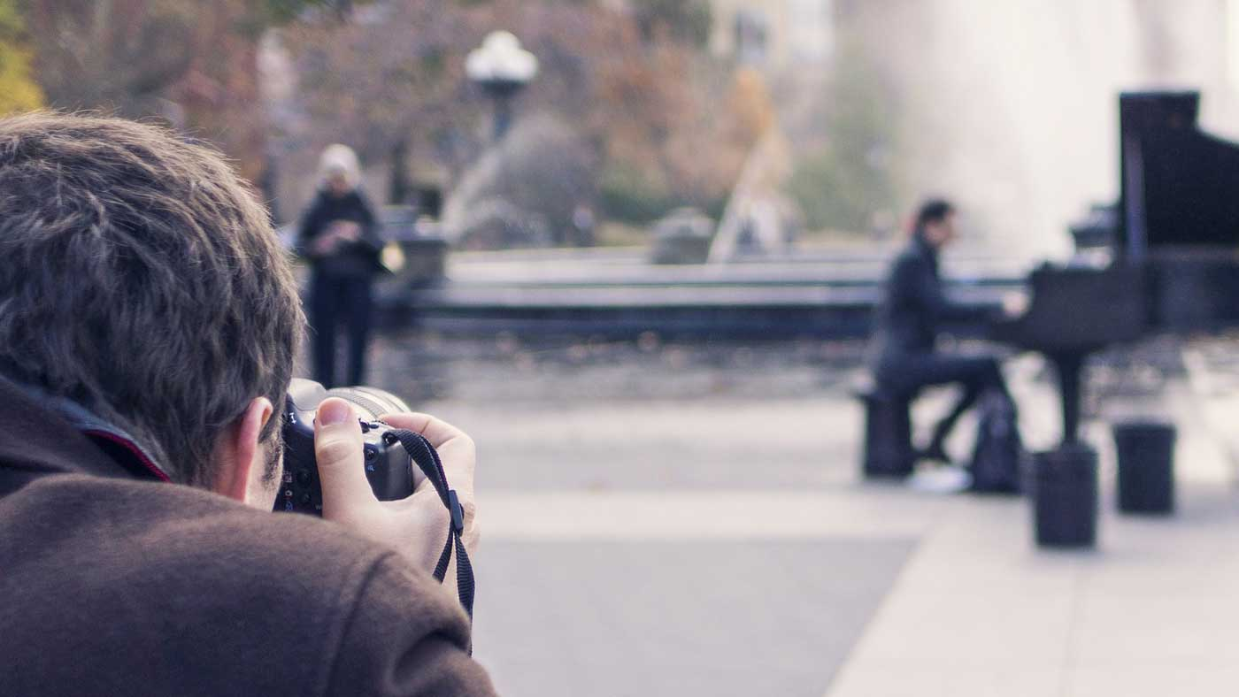 Practice photography to improve your video skills