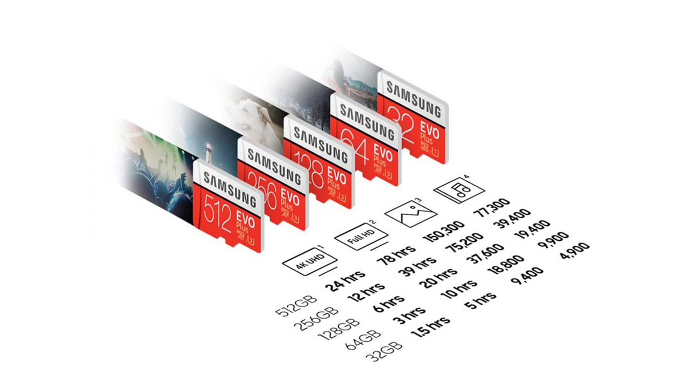 MicroSD EVO Plus