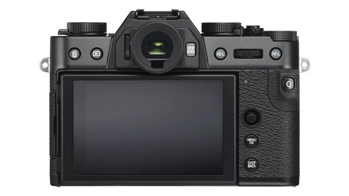 Back of Fujifilm X-T30