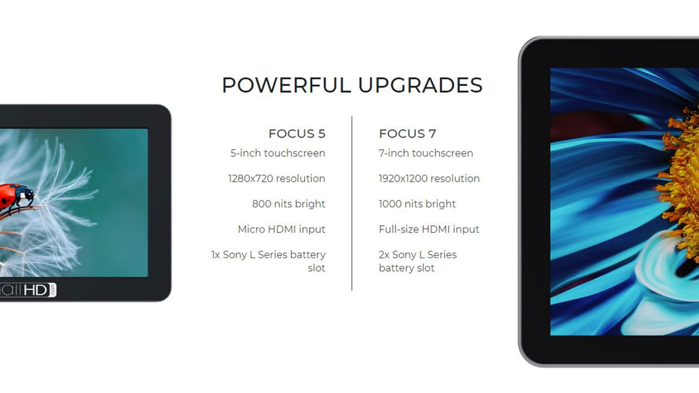 The FOCUS 7 has a lot of improvements over the FOCUS 5