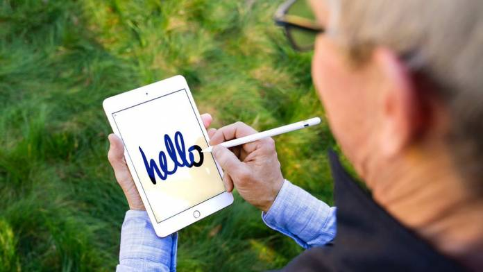 Apple's iPad Air and iPad Mini now support the Apple Pencil