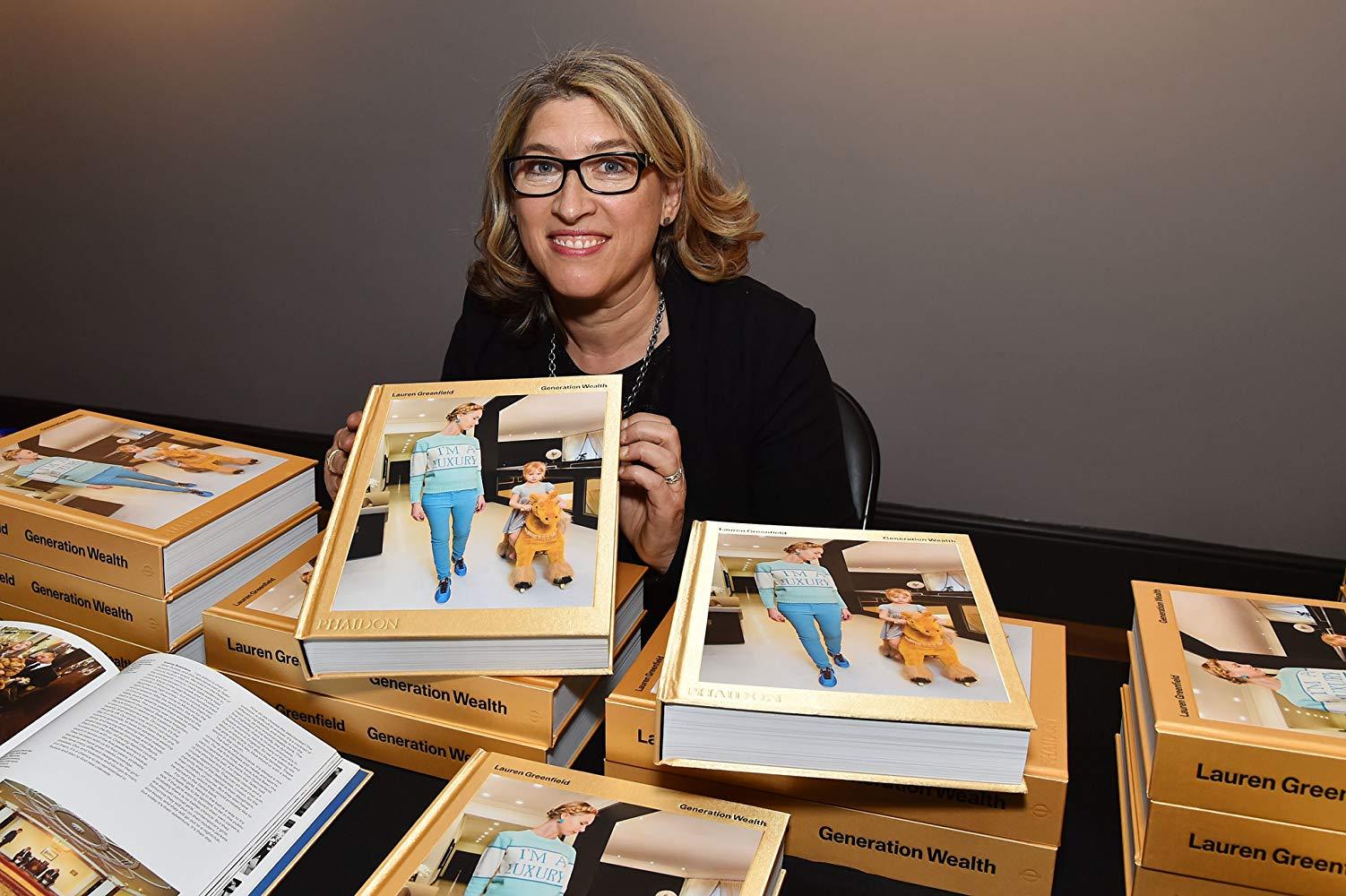 Lauren Greenfield author of Generation Wealth Photo Lauren Greenfield