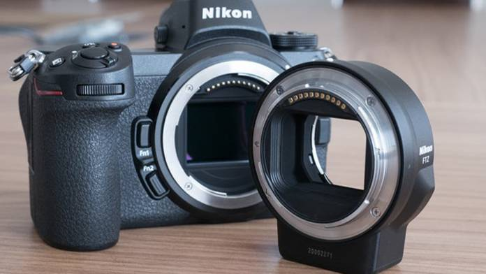 Nikon Z7 and FTZ adapter