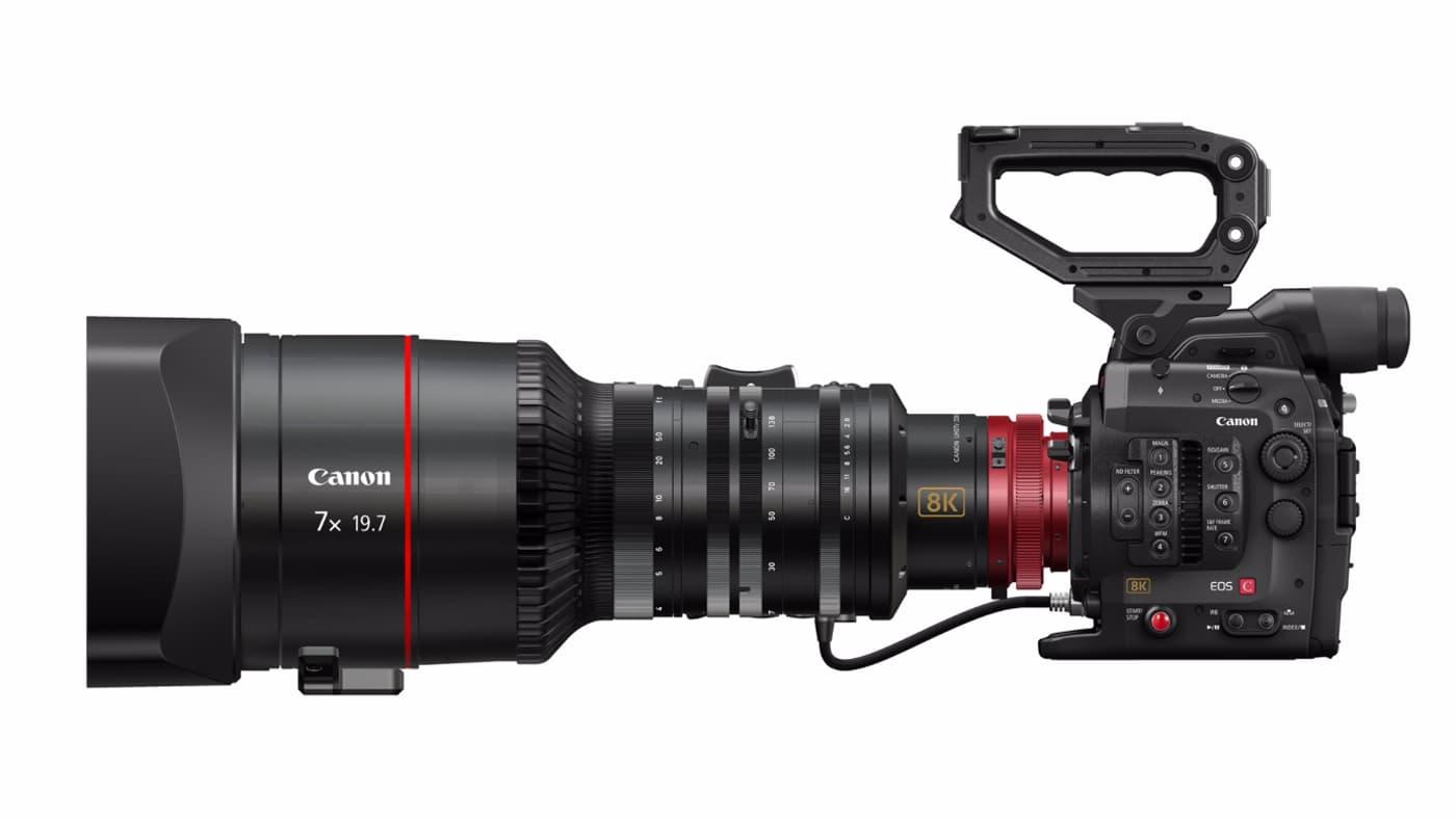 Canon 8K cinema camera