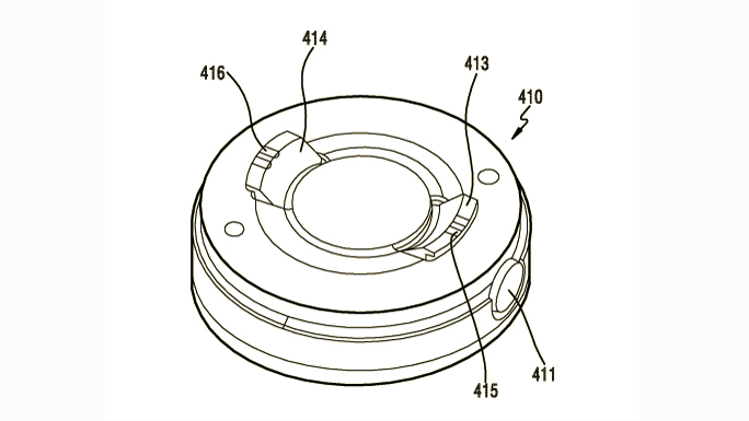 This is one of the camera designs Samsung has in its patent