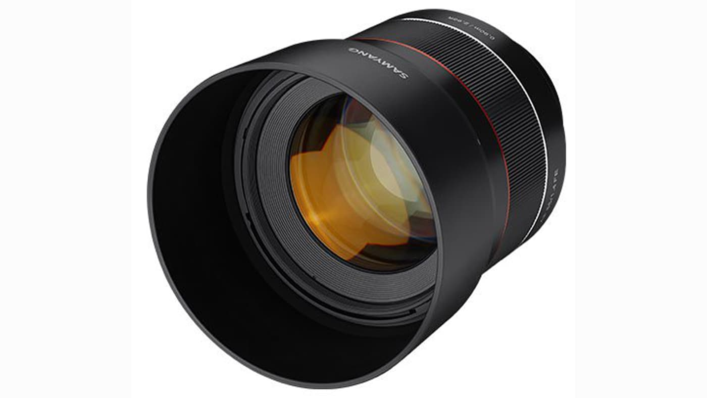 Samyang intros AF 85mm f/1.4 FE lens for Sony cameras