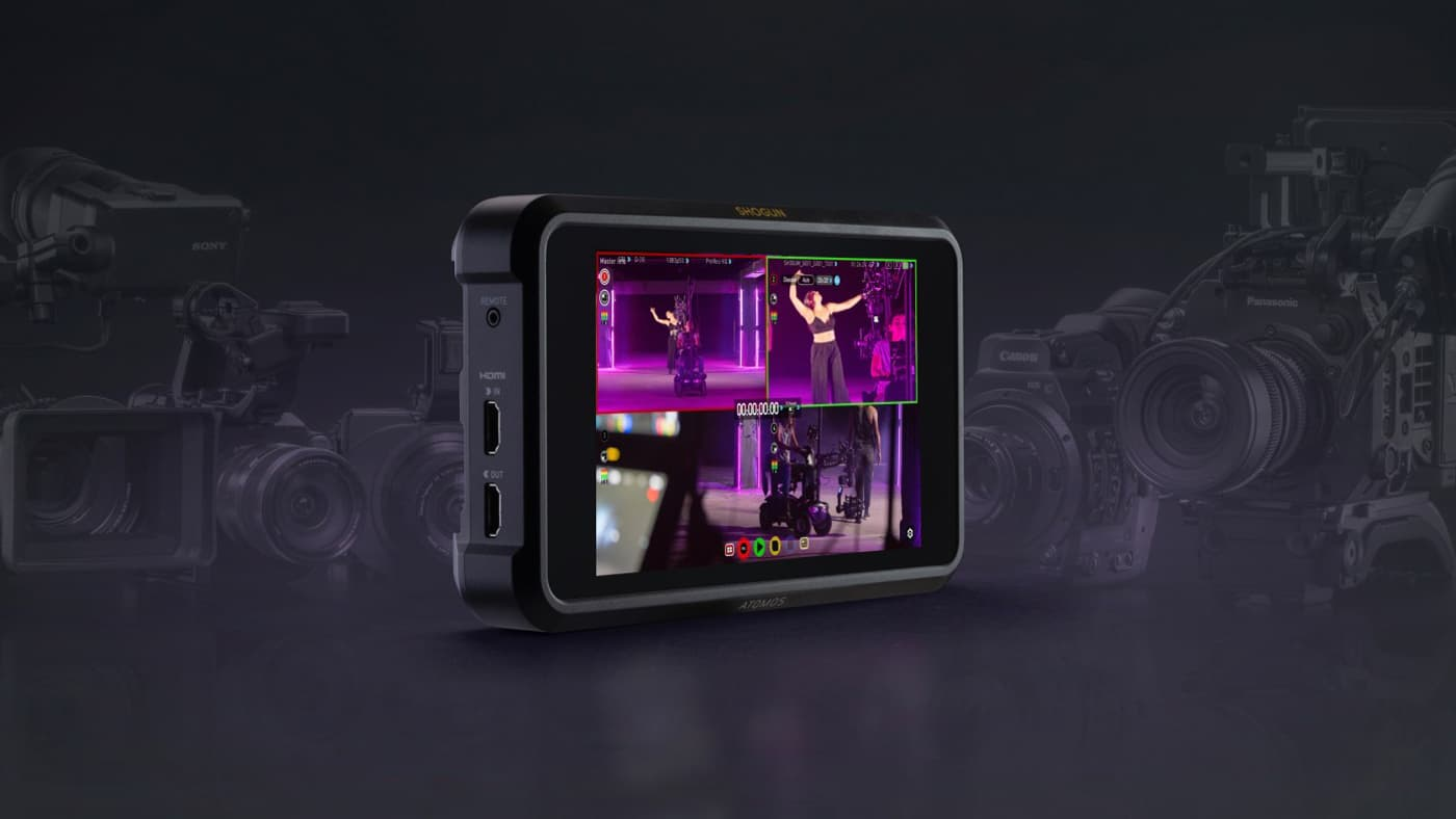 NAB 2019: Atomos Shogun 7 wins our Best Monitor/Recorder award