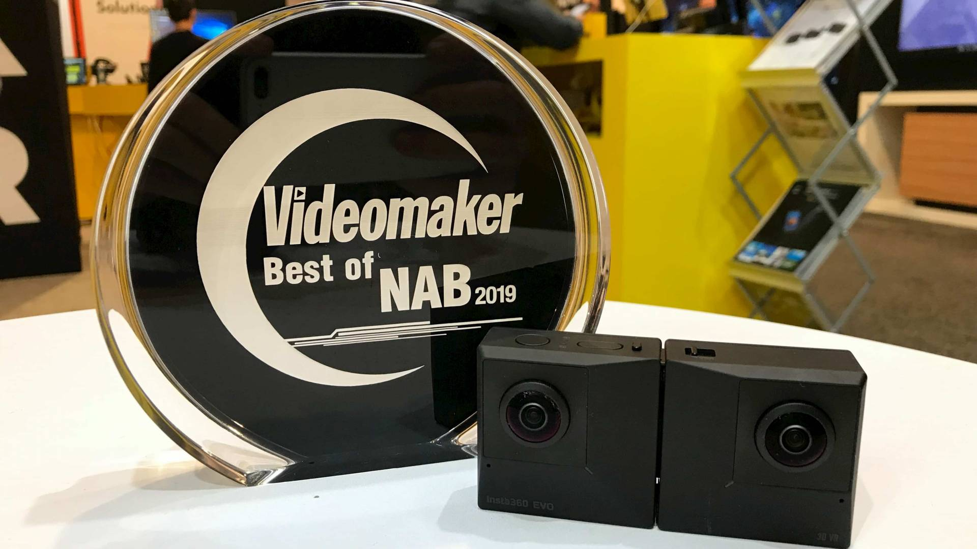Insta360 EVO with Best of NAB 2019 award