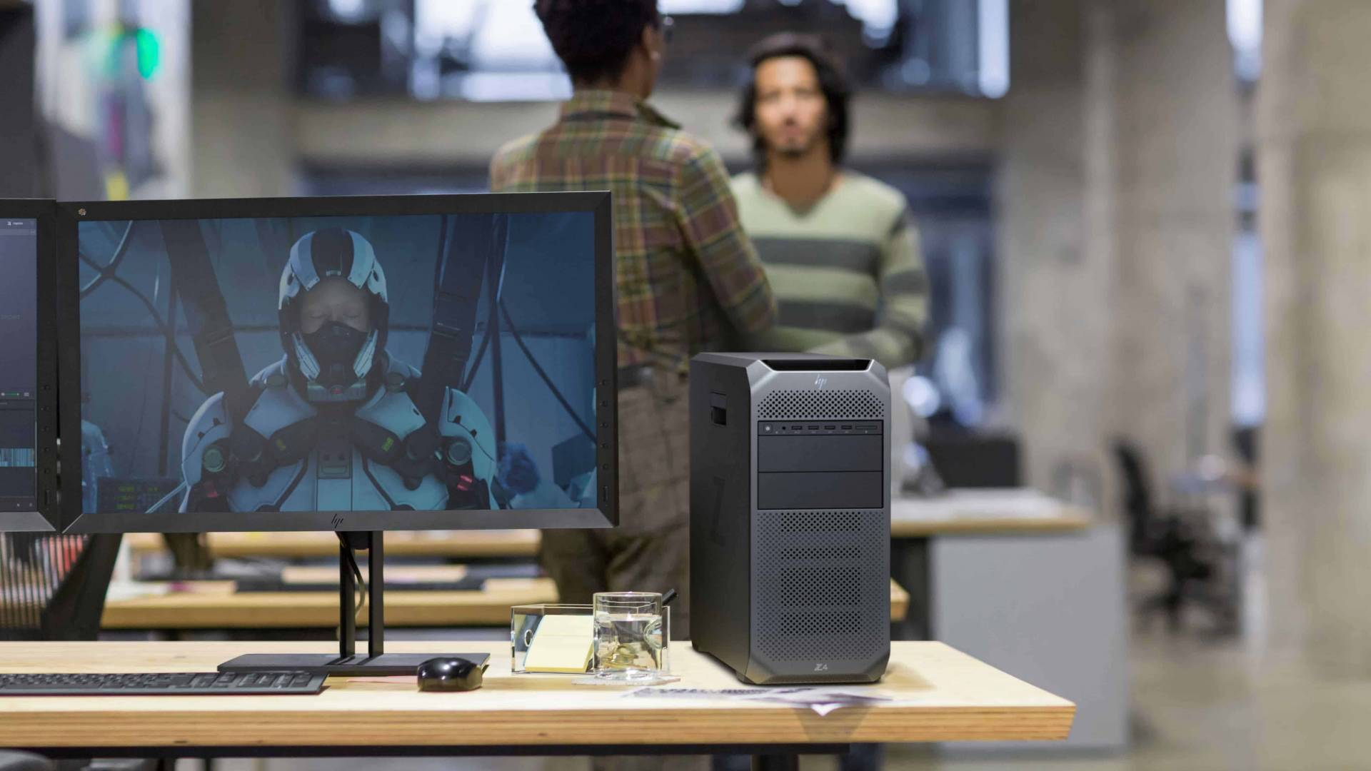 HP Z6 G4 in a modern office
