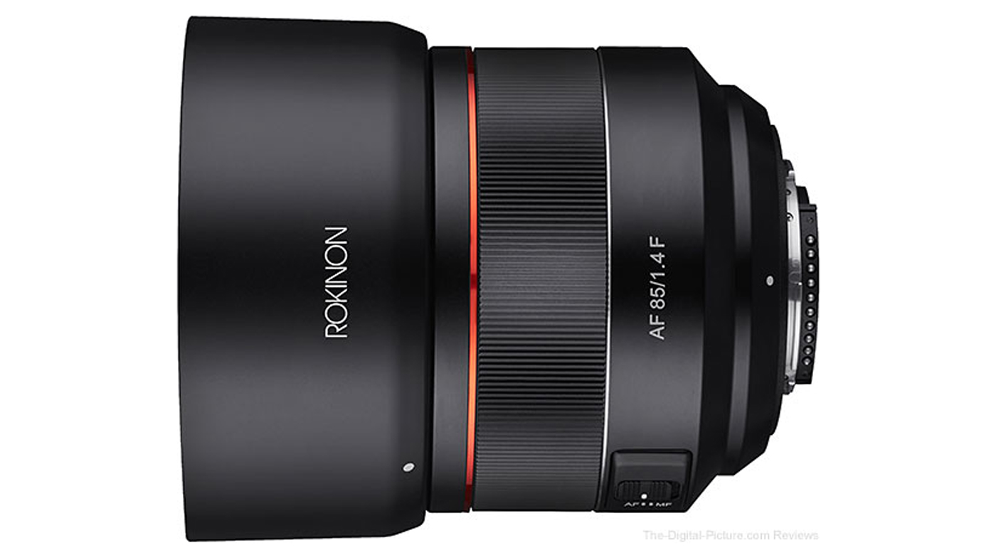 Rokinon adds new AF 85mm lens to Nikon F mount