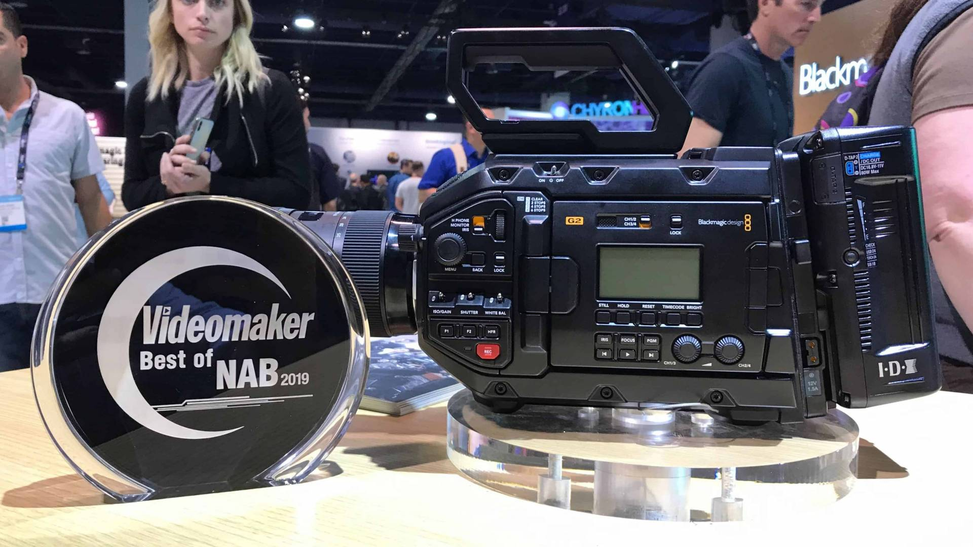 Blackmagic URSA Mini 4.6K G2 with award