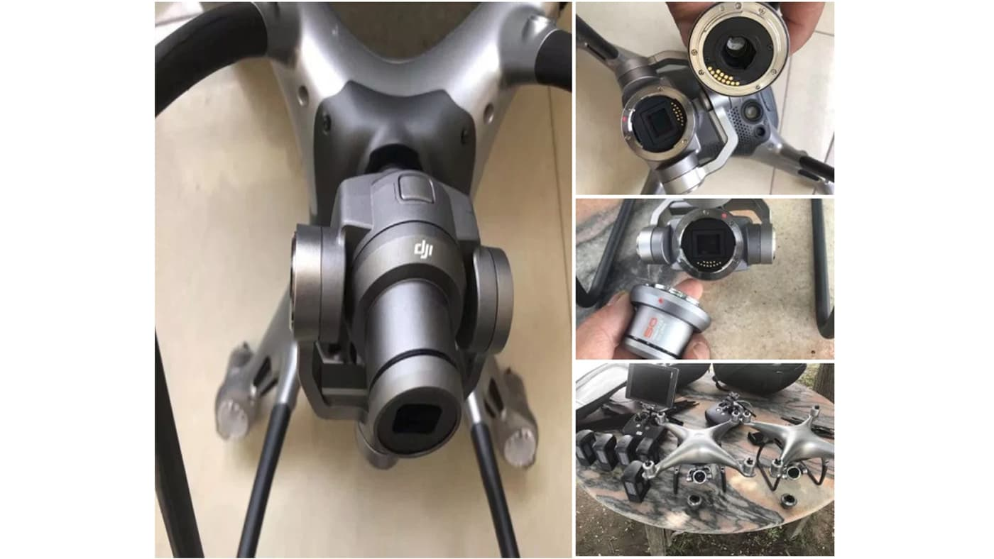 These are supposedly images of the unreleased Phantom 5