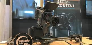 Rhino Camera Gear motorized camera head wins Videomaker's Best Motion Control System at NAB 2019