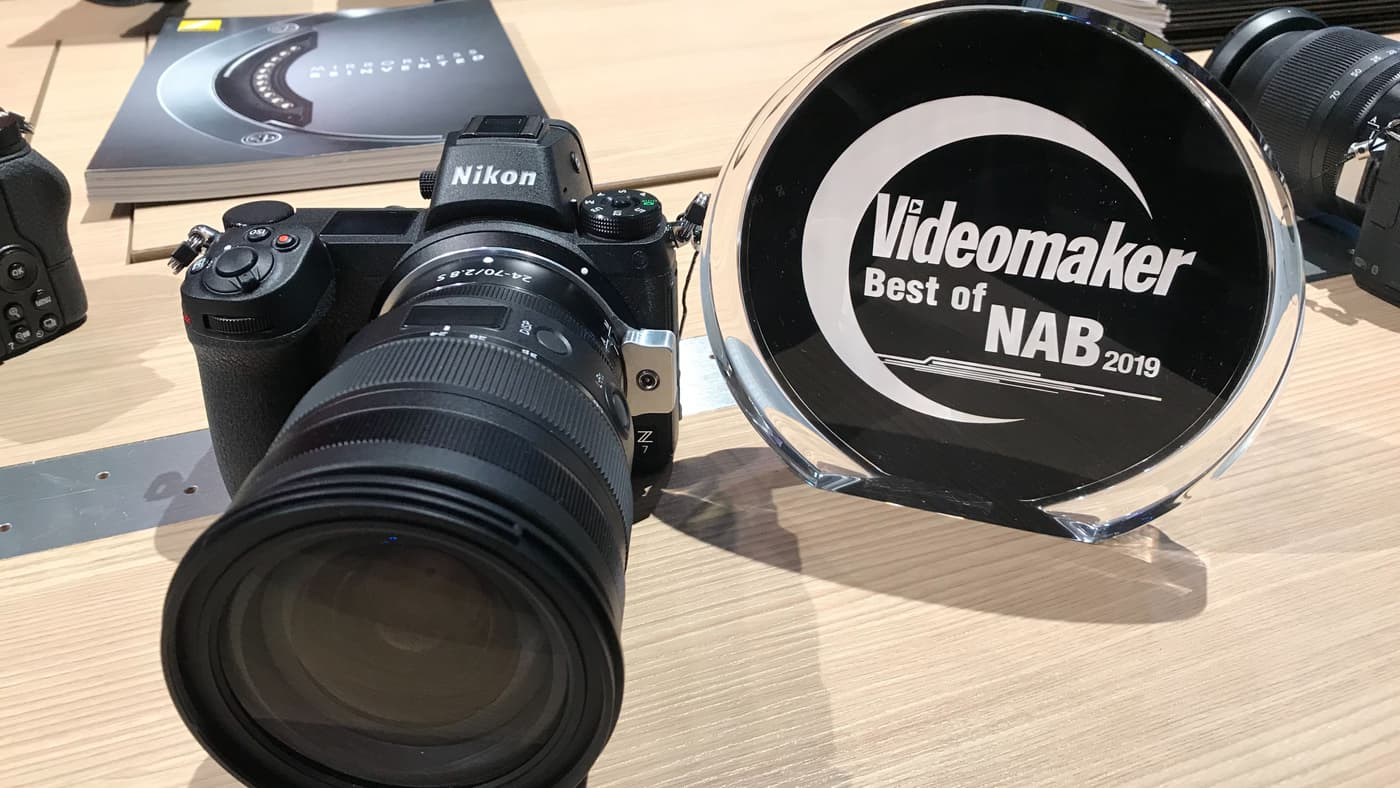 Nikon 24-70MM F/2.8 S is Videomaker's Best Lens at NAB 2019
