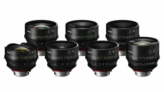 Canon Sumire Prime Cinema Lenses