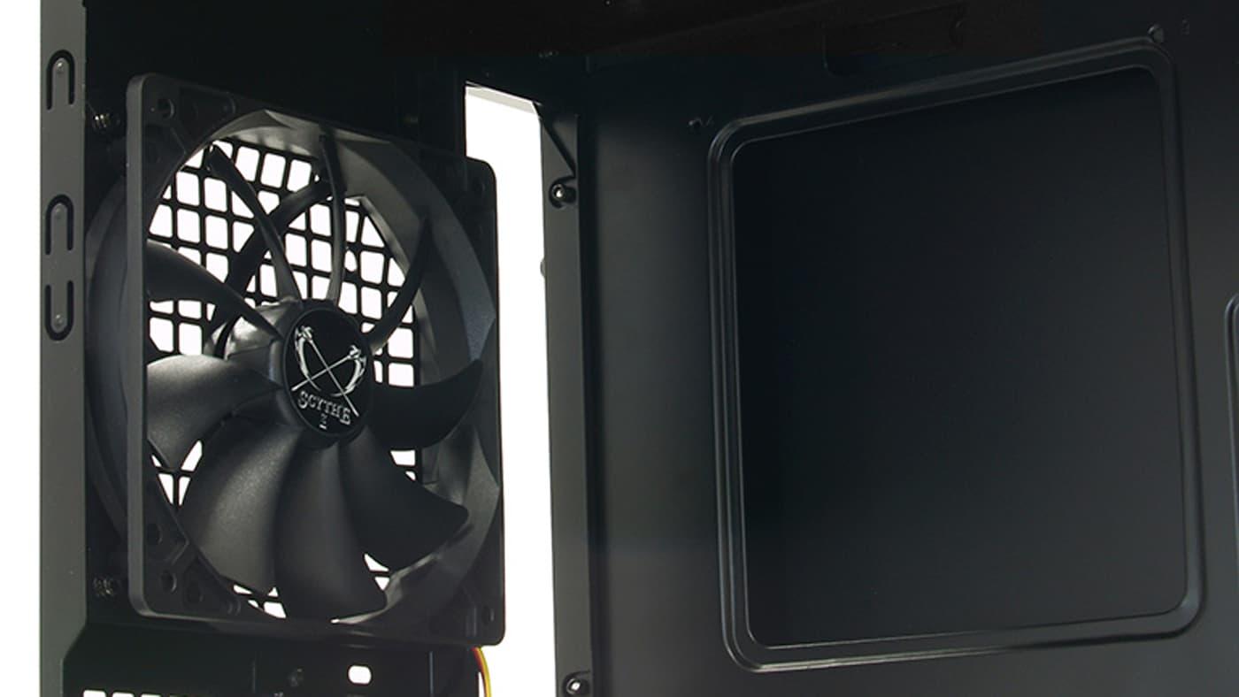 Rear computer fan