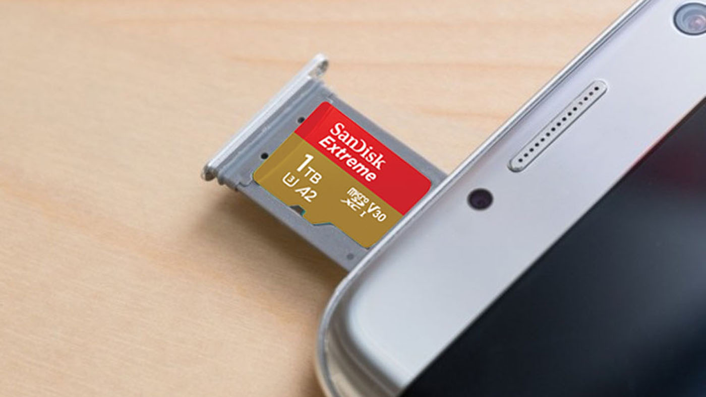 Image result for SanDisk's 1TB microSD card