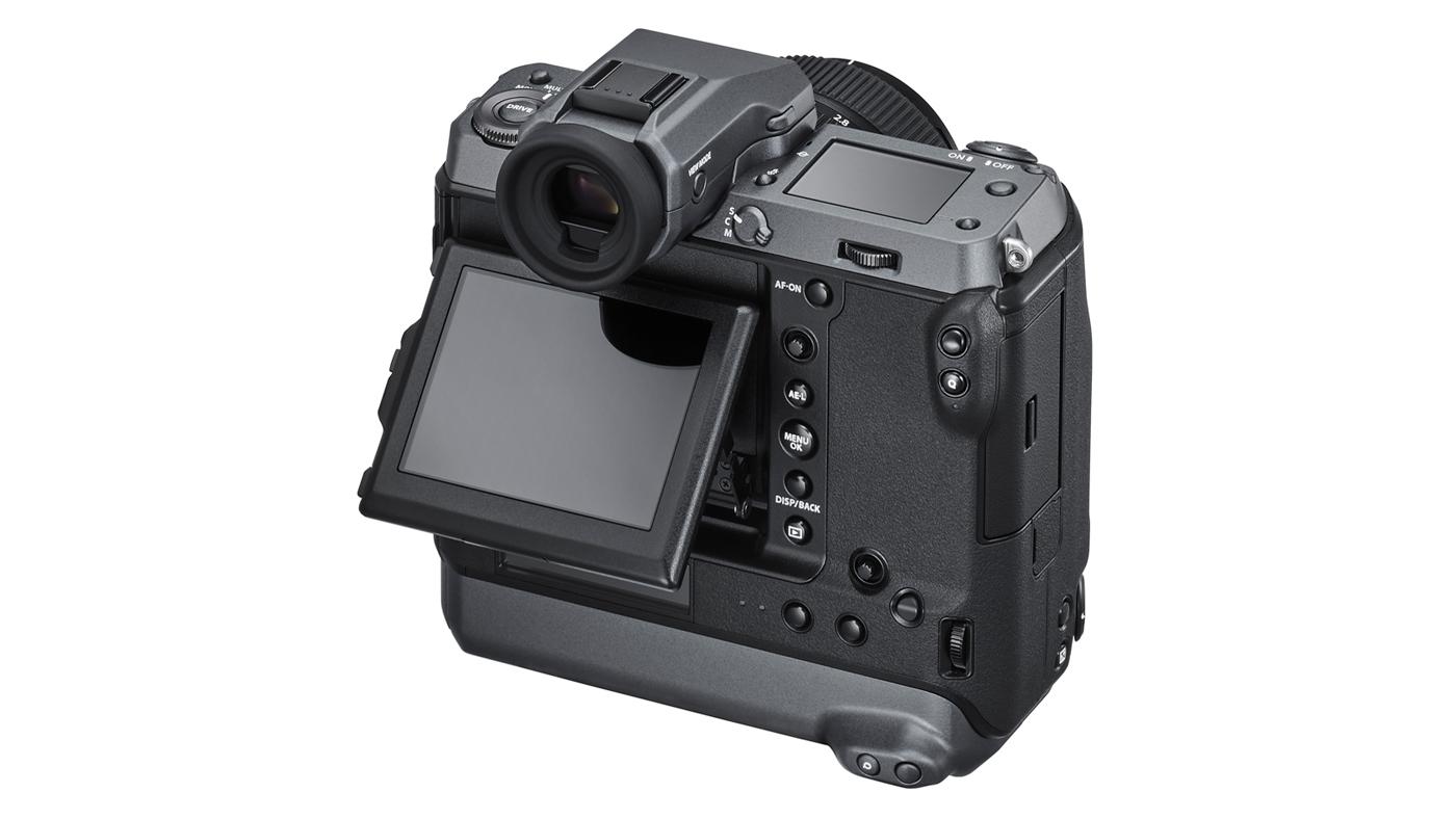 Back shot of Fujifilm GFX100