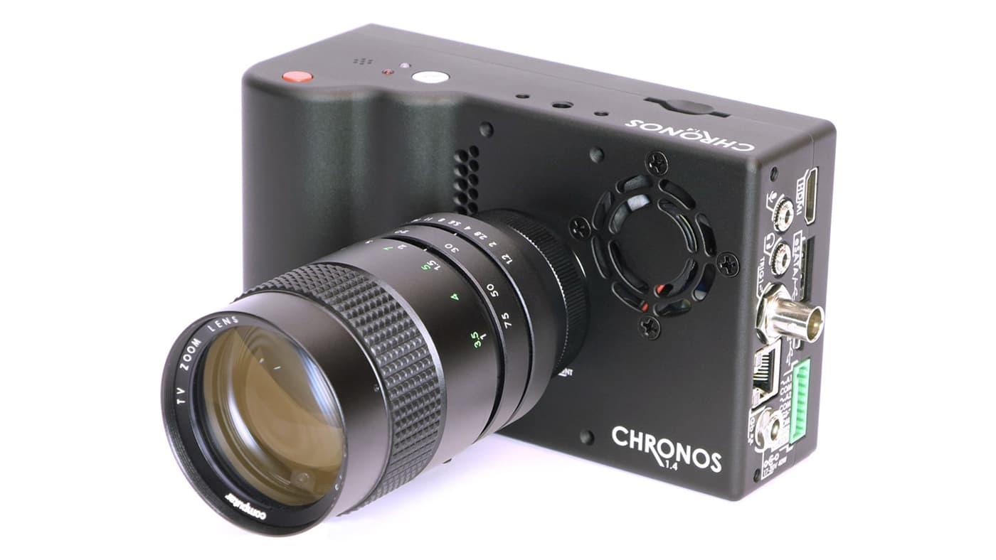 Chronos 1.4 camera can record super fast video at 1057 fps