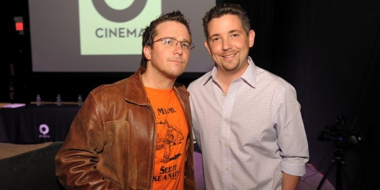 Cocaine Cowboys director Billy Corben and Producer Alfred Spellman.