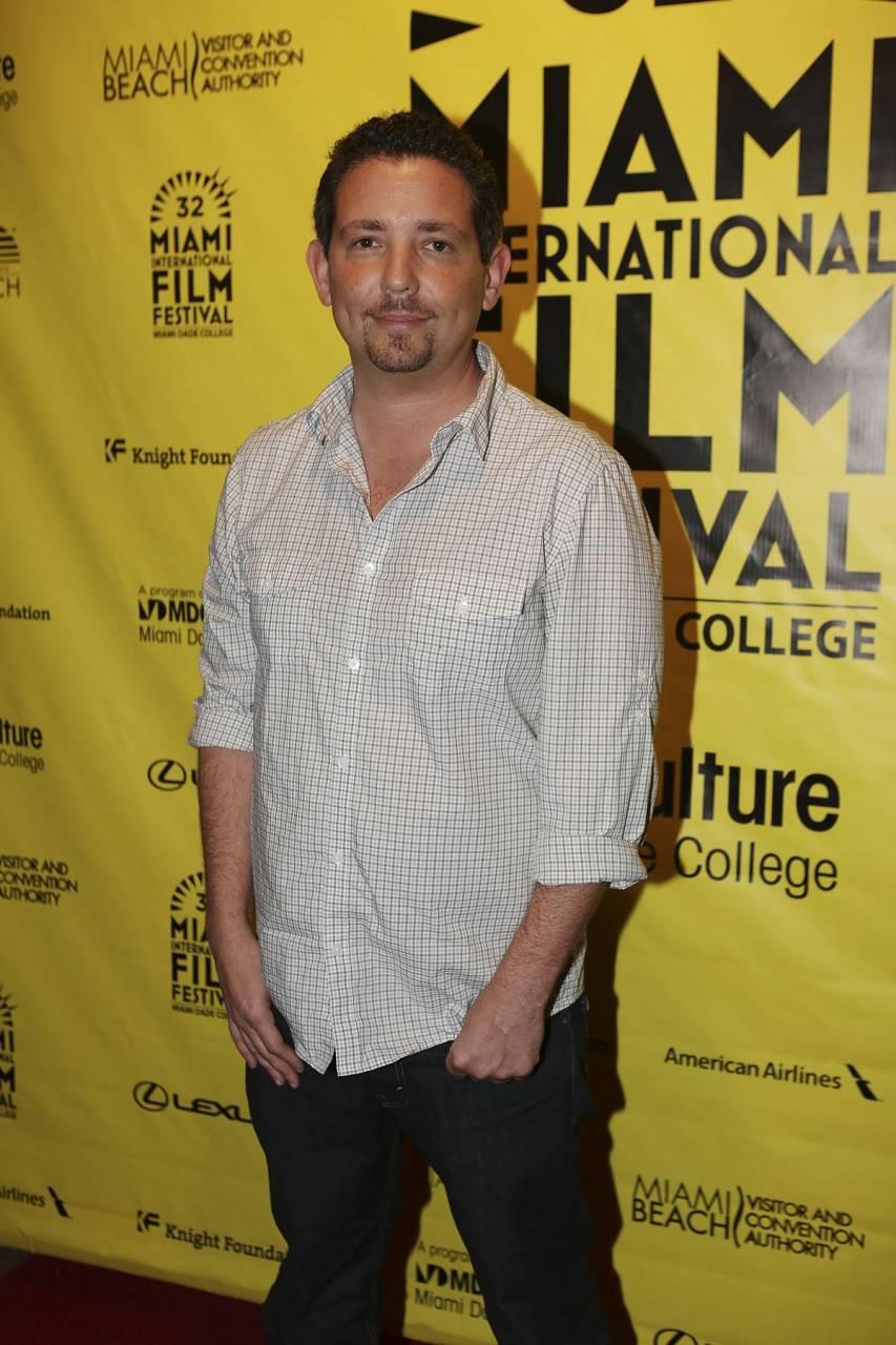 Producer Alfred Spellman at Miami International Film Festival