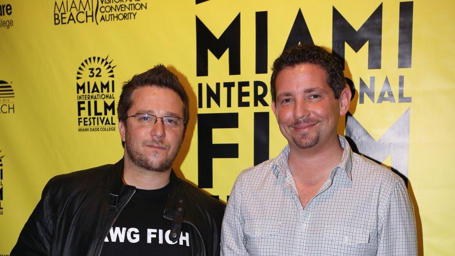 Rakontur filmmakers Billy Corben and Alfred Spellman at Miami International Film Festival