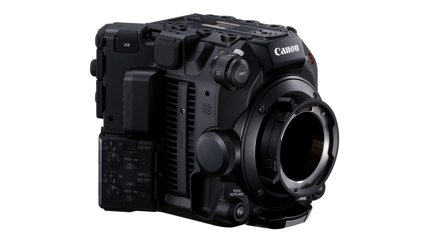 EOS C500 Mark II's body