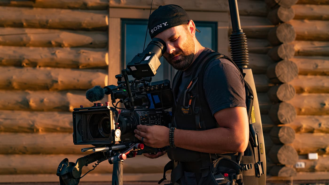 Sony's PXW-FX9 in use