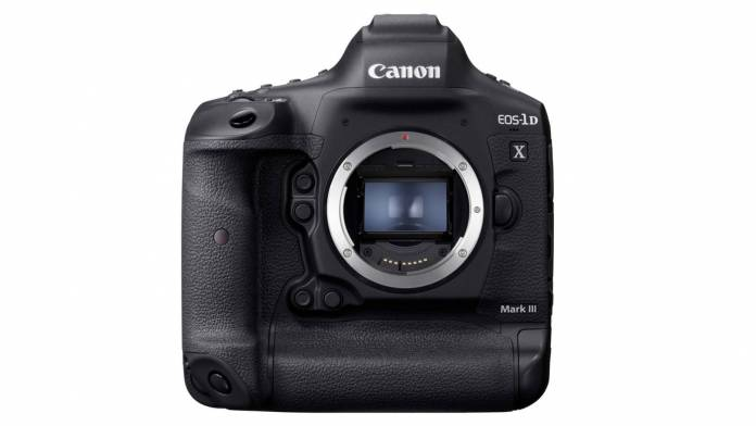 Canon has announced the EOS-1D X Mark III