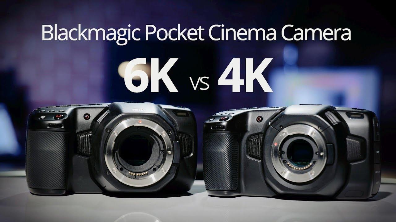 Blackmagic Pocket Cinema Camera 6k Vs 4k Videomaker