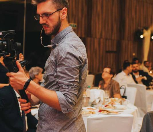 Wedding Videographer at rectiption